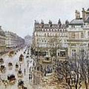Pissarro: Theatre Francais Poster