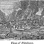 Pittsburgh, 1836 Poster