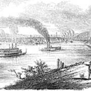Pittsburgh, 1853 Poster