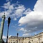 Place Vendome. Paris. France. Poster
