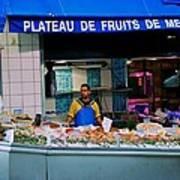 Plateau De Fruits De Mer Poster