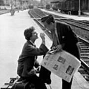 Platform Cigarette Poster by Kurt Hutton
