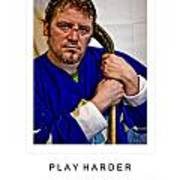 Play Harder Poster