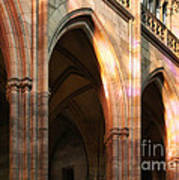 Play Of Light And Shadow - Saint Vitus' Cathedral Prague Castle Poster