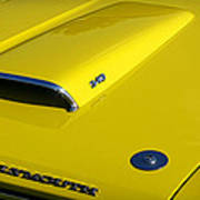 Plymouth Duster 340 Hood Scoop Poster