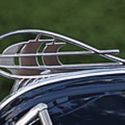 Plymouth Hood Ornament Poster