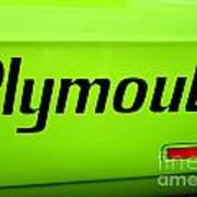 Plymouth Road Runner Poster