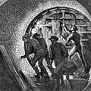 Pneumatic Transit, 1870 Poster