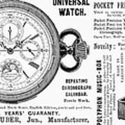 Pocket Watch, 1897 Poster