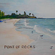 Point Of Rocks Poster