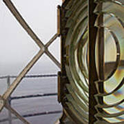 Point Vicente Lighthouse 3rd Order Fresnal Light Poster