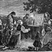Poland: Cholera, 1873 Poster