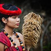 Polynesian Beauty Poster by Ralf Kaiser