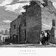 Pompeii: Bathhouse, C1830 Poster