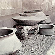 Pompeii: Cooking Pots Poster