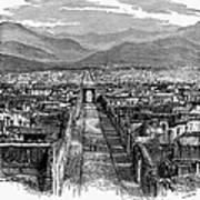Pompeii: Ruins, C1880 Poster