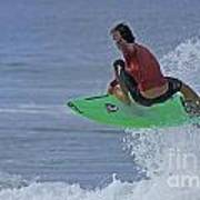 Ponce Surfer Soar Poster