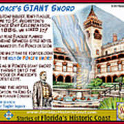 Ponce's Giant Sword Poster