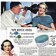 Ponds Face Powder, 1934 Poster