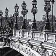 Pont Alexander IIi Bw Poster