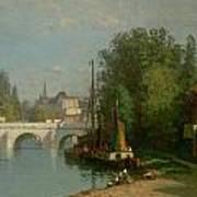 Pont Du Carrousel Poster