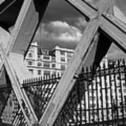 Pont Lafayette Paris Poster