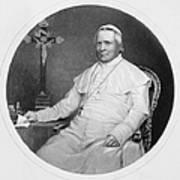 Pope Pius Ix (1792-1878) Poster
