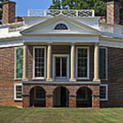 Poplar Forest From The South Lawn Poster