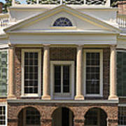 Poplar Forest South Portico Poster