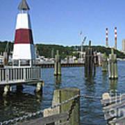 Port Jefferson Harbor Poster