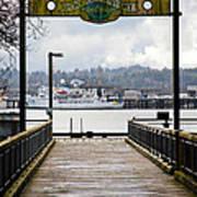 Port Of Newport Poster