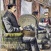 Portable Typewriter, 1889 Poster
