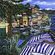 Portofino Poster by Lisa Reinhardt