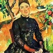 Portrait Madame Cezanne Poster by Pg Reproductions