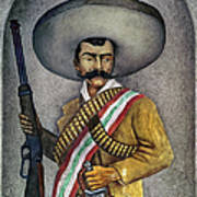 Portrait Of A Zapatista Poster