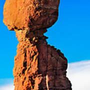 Portrait Of Balance Rock Poster