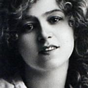 Portrait Of Gabriella Ray Poster