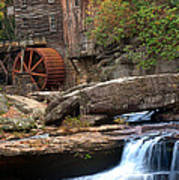 Portrait Of Glade Creek Mill Poster