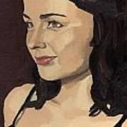 Portrait Of Solomia Poster