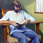 Portrait Study 1984 Poster