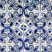 Portuguese Azulejo Poster