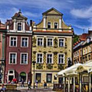 Posnan Shops - Poland Poster