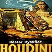 Poster Promoting Harry Houdini Poster
