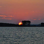 Potomac Sunrise Poster