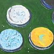 Pots Of Paint Poster