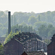 Potteries Urban Landscape Poster