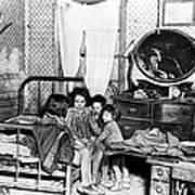 Poverty Stricken Children In A Rural Poster by Everett