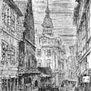 Prague: Jewish City Hall Poster