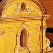 Praiano Church Poster