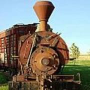 Prairie Train Poster